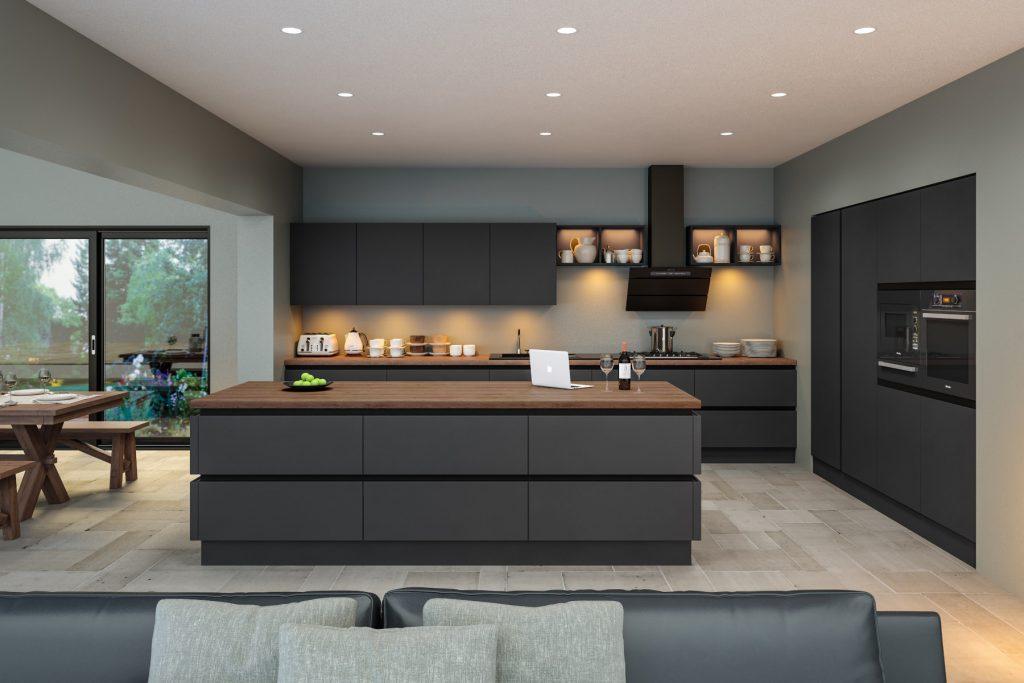 Supermatt_Graphite_Kitchen